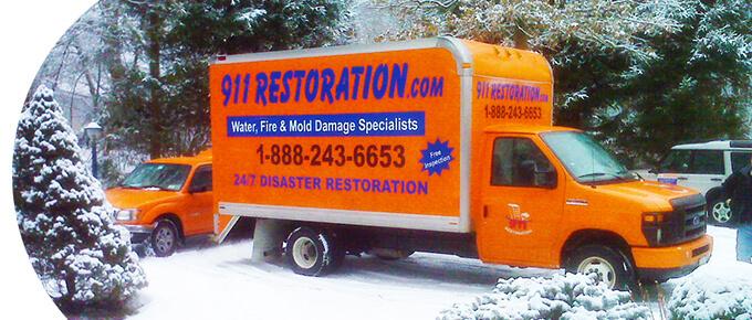 911 Restoration Truck