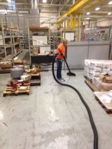 Water Extraction Being Conducted In A Commercial Property